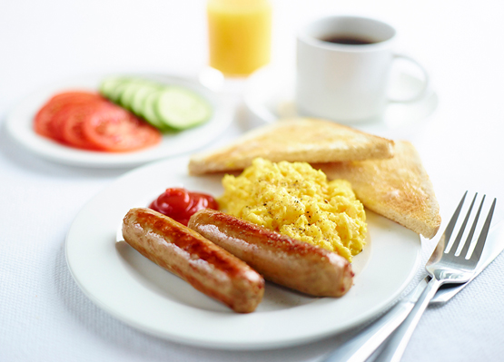 Tuck into an Express Start Breakfast from our Leeds hotel